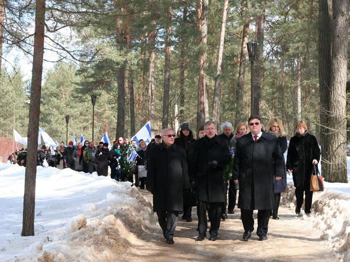 Pagerbtas holokausto aukų atminimas