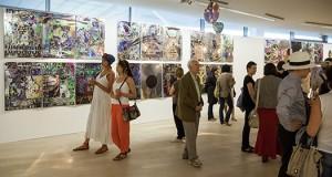 Jono Meko vizualiųjų menų centre atidaryta italų menininko Giuseppe Zevolos paroda