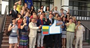 Pirmininkavimo ES tarybai pradžia pažymima renginiais užsienyje