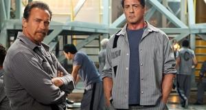"""Bičiuliai Sylvesteris Stallone ir Arnoldas Schwarzeneggeris filme """"Pabėgimo planas"""" gerokai aptalžys vienas kitą"""