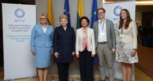 Prezidentė pasveikino Europos Sąjungos jaunimo konferencijos dalyvius