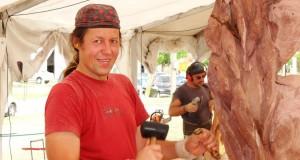 Alytiškio medžio drožėjo darbai puikiai įvertinti Argentinoje