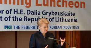 Pietų Korėja domisi investavimu Lietuvoje