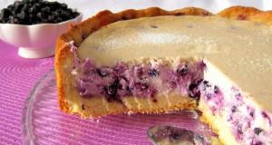 """Pyragas su mėlynėmis ir varške """"Mėlynoji naktis"""""""