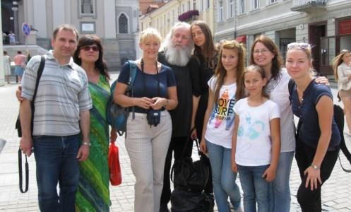 UKRAINA. 35 metus lauktas susitikimas su Lietuva