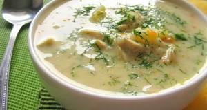 Sūrio sriuba su vištiena