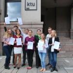 """Lietuviai nugalėjo pasaulio studentams skirtame įmonės """"Google"""" konkurse"""
