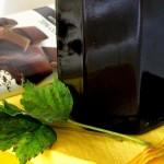 Juodųjų serbentų džemas su šokoladu