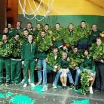Lietuvos krepšinio rinktinės sutiktuvės