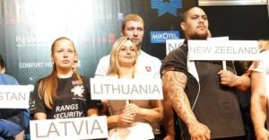 Pasaulio rankų lenkimo čempionate Vilniuje varžosi daugiau nei 1000 sportininkų