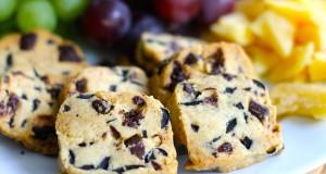 Sausainiai su alyvuogėmis ir šokoladu
