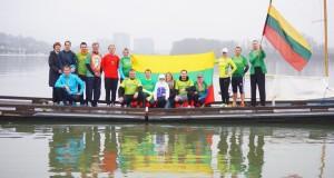 JAV. Lietuvos laisvės gynėjus bėgimu pagerbė JAV gyvenantys lietuviai ir kitataučiai