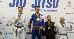 Donatas Uktveris Europos brazilų džiudžitsu čempionate iškovojo sidabro medalį