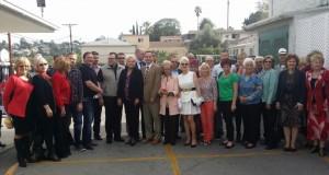 Su Los Andželo lietuviais aptartas pirmojo JAV Vakarų pakrantėje Lietuvos generalinio konsulato steigimas