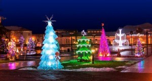 Gražiausios Druskininkų kalėdinio parko eglutės rinkimai