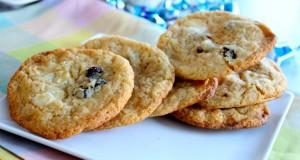 Sausainiai su baltuoju šokoladu