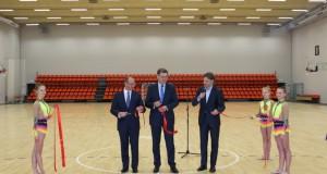 Druskininkuose atidarytas Sportininkų rengimo centras