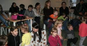 ISLANDIJA. Mažųjų lietuvaičių susitikimas su islandų rašytoja ir iliustruotoja