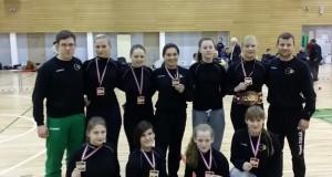 Dviem lietuvėms – atvirojo Latvijos moterų imtynių čempionato aukso medaliai