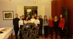 """NORVEGIJA. Lietuviai ambasadoje surengė """"Donelaičio pamokas"""""""