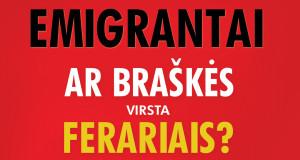 """Julija Miliūtė. """"Emigrantai. Ar braškės virsta ferariais?"""""""
