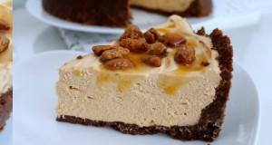 Nekeptas karamelinis sūrio pyragas
