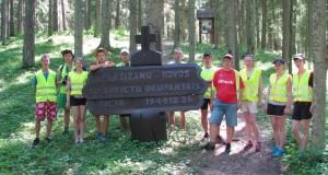 """1919–1920 m. savanorių kovoms atminti skirtas dviračių žygis """"Mūsų generolo takais"""""""