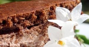 Šokoladinis pyragas su rikotos kremu