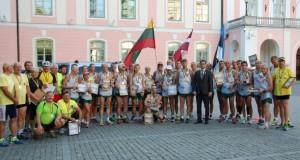 Užsienio lietuviai minėjo Baltijos kelio 26-ąsias metines