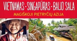 "Violeta Domkuvienė. ""Vietnamas, Singapūras, Balio sala. Magiškoji Pietryčių Azija"""