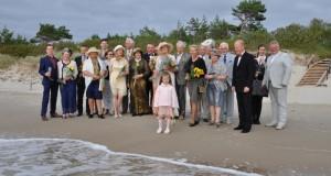 Auksinės vestuvės paskatino prisiminti giminės praeitį