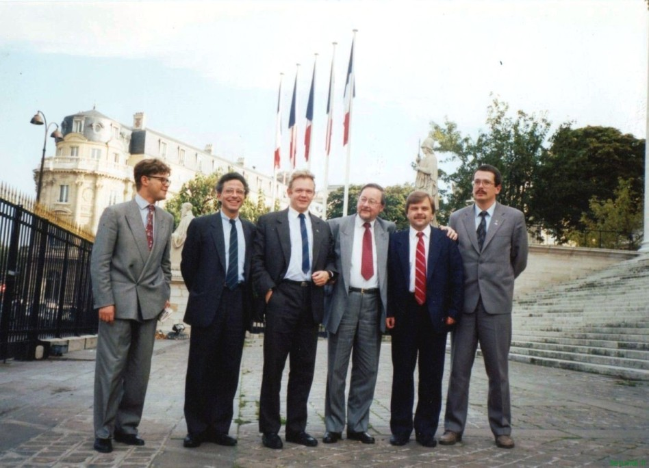 V. Landsbergio vizitas. 1990 m. spalis