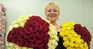 """Floristė Rita Bagdzevičiūtė: """"Ne visi atskiria floristiką nuo gėlių pakavimo"""""""