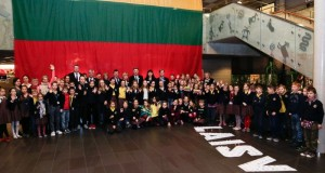 Ministras Pirmininkas kvietė moksleivius kurti ateities Lietuvą