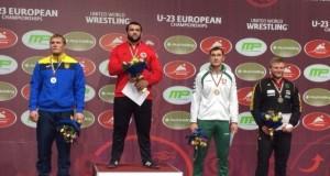 Imtynininkas Mantas Knystautas Europos jaunimo čempionate iškovojo bronzos medalį