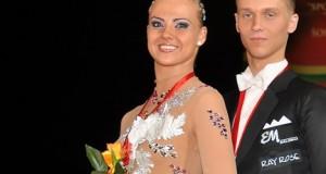 Šokėjai I. Žukauskaitė ir E. Sodeika prestižinėse varžybose Suomijoje laimėjo bronzos medalius