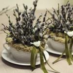 Velykų stalą ir namus puoškime natūraliais augalais