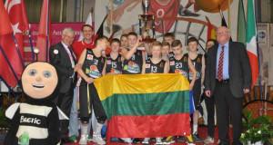 Lietuvių komanda – tarptautinio krepšinio turnyro Prancūzijoje čempionė