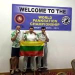 Tapęs pasaulio čempionu T. Pakutinskas šiemet užsibrėžė naują tikslą