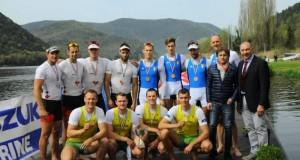 Lietuvos irkluotojai sezoną pradėjo 4 pergalėmis Italijoje