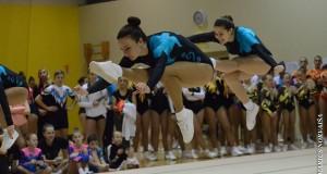 KTU sportininkės džiaugiasi aukšta vieta tarptautinėse aerobinės gimnastikos varžybose