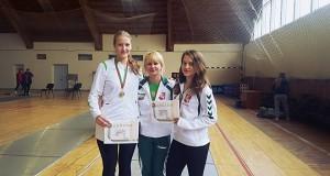Baltarusijos fechtavimo čempionate Lietuvos komanda pasipuošė aukso medaliais