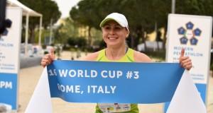 L. Asadauskaitė-Zadneprovskienė – 2016 metų pasaulio taurės III etapo moterų varžybų nugalėtoja