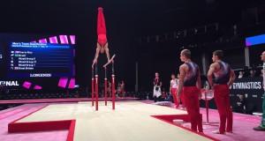 Sėkmingi Lietuvos gimnastų pasirodymai pasaulio taurės varžybose