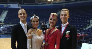 Lietuvos šokėjams – Europos čempionato sidabro ir bronzos medaliai