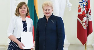 Monikai Glemžaitei sėkmė Nacionalinio diktanto konkurse šyptelėjo antrąkart