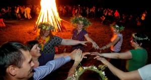 Trumpiausios nakties šventė Jonų respublikoje Jonavoje