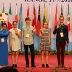 Už puikias biologijos žinias – tarptautinės olimpiados sidabro ir bronzos medaliai