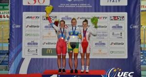 Olivija Baleišytė – Europos jaunių čempionė ir pasaulio jaunių rekordininkė