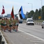 """25-ąjį kartą surengtas tarptautinis bėgimas """"Baltijos kelias"""""""
